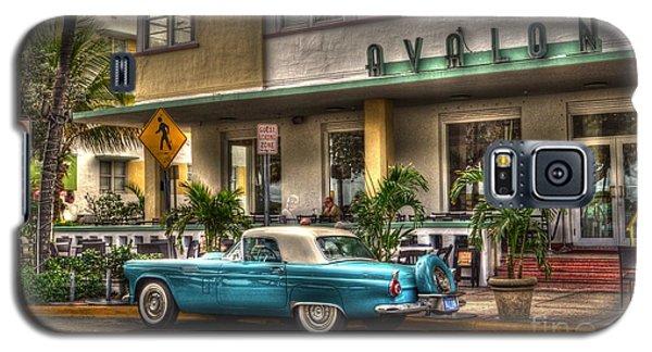 Miami Beach Art Deco 1 Galaxy S5 Case
