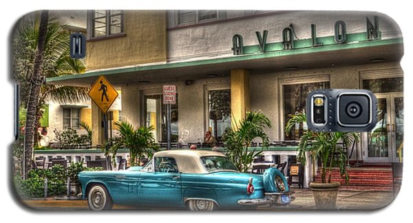 Galaxy S5 Case featuring the photograph Miami Beach Art Deco 1 by Timothy Lowry