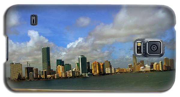 Galaxy S5 Case featuring the photograph Miami by J Anthony