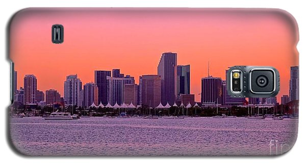 Galaxy S5 Case featuring the photograph Miami Metro by Judy Kay