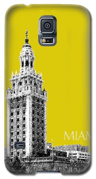 Miami Skyline Freedom Tower - Mustard Galaxy S5 Case