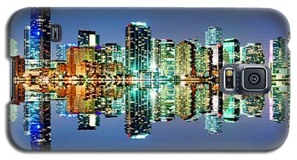 Miami Skyline Panorama Galaxy S5 Case