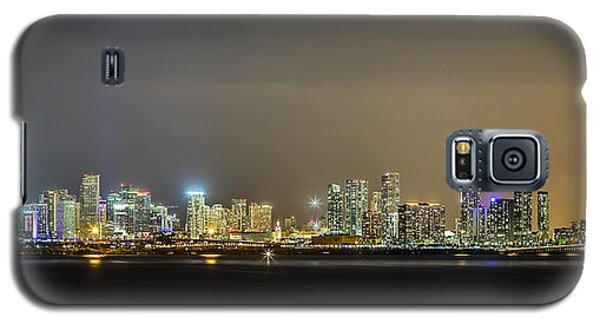 Miami Skyline View II Galaxy S5 Case