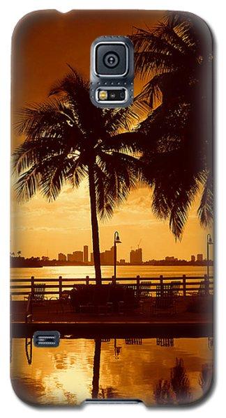 Miami South Beach Romance II Galaxy S5 Case