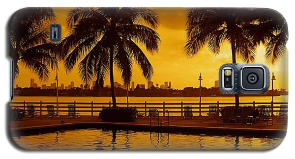 Miami South Beach Romance Galaxy S5 Case
