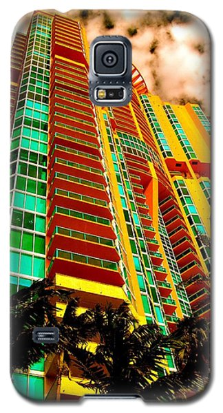 Miami South Pointe II Highrise Galaxy S5 Case