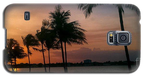 Miami Sunset Galaxy S5 Case