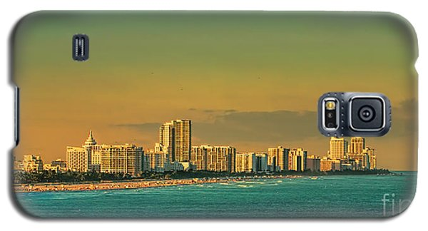 Miami Sunset Galaxy S5 Case by Olga Hamilton
