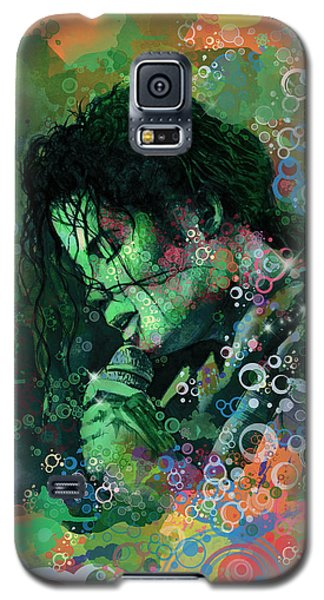 Michael Jackson 15 Galaxy S5 Case by Bekim Art
