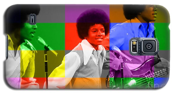 Michael Jackson And The Jackson 5 Galaxy S5 Case by Marvin Blaine