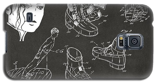 Michael Jackson Anti-gravity Shoe Patent Artwork Vintage Galaxy S5 Case by Nikki Marie Smith