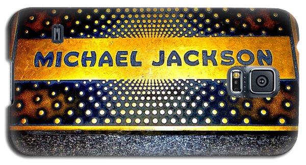 Michael Jackson Apollo Walk Of Fame Galaxy S5 Case by Ed Weidman
