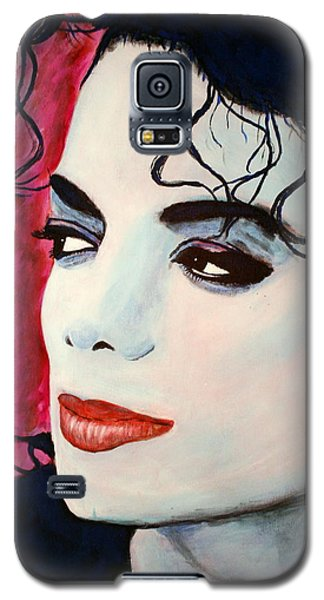 Michael Jackson Art - Full Color Galaxy S5 Case