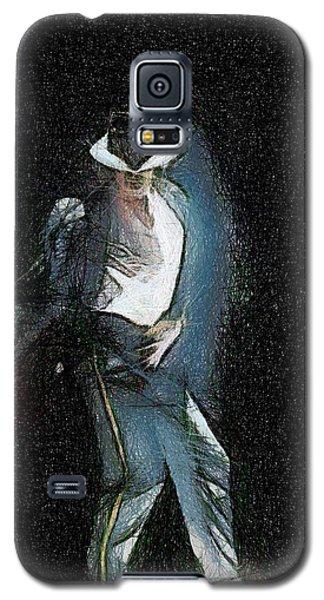 Michael Jackson Galaxy S5 Case by Georgi Dimitrov