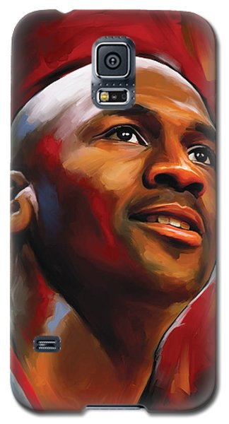 Michael Jordan Artwork 2 Galaxy S5 Case