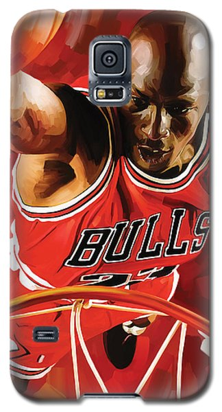Michael Jordan Artwork 3 Galaxy S5 Case