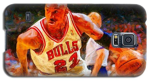 Michael Jordan Galaxy S5 Case by Kai Saarto