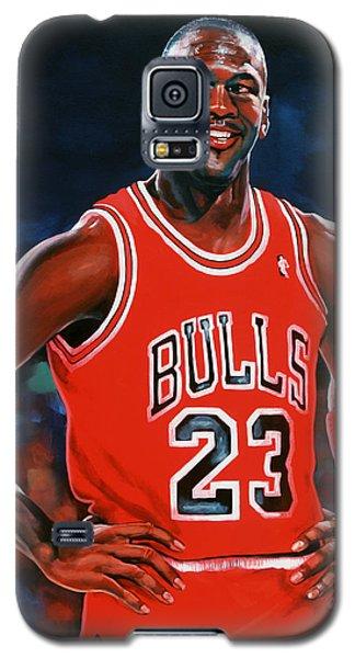 Michael Jordan Galaxy S5 Case by Paul Meijering