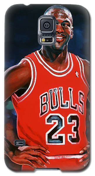 Michael Jordan Galaxy S5 Case by Paul Meijering