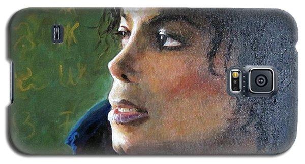 Michael Joseph Jackson Galaxy S5 Case by Jieming Wang