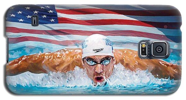 Michael Phelps Artwork Galaxy S5 Case