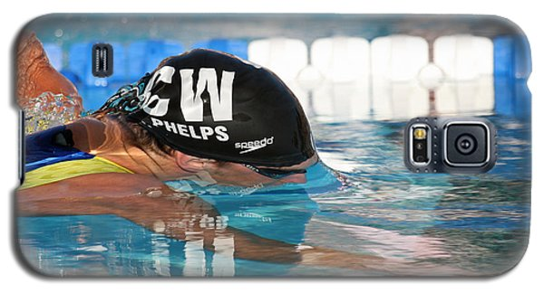 Michael Phelps  Galaxy S5 Case by Duncan Selby