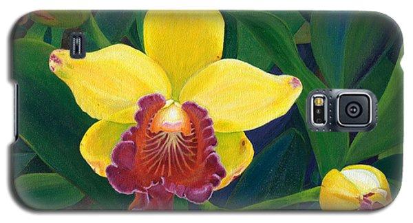 Michaela's Yellow Budda Galaxy S5 Case by Jodi Terracina