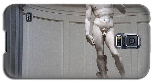 Galaxy S5 Case featuring the photograph Michelangelo's David by Nathan Rupert