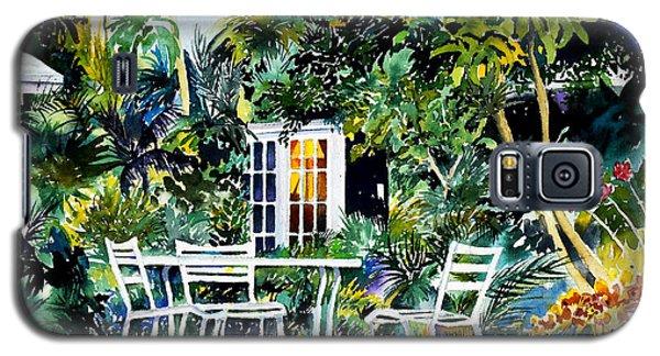 Michelle And Scott's Key West Garden Galaxy S5 Case