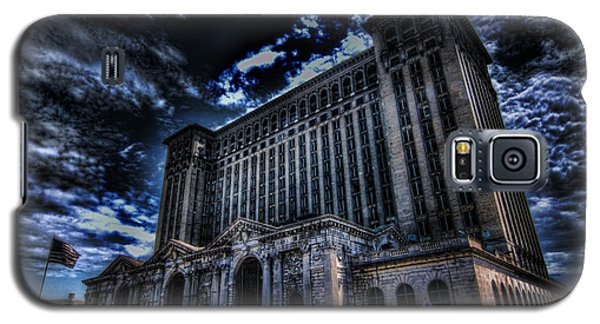 Michigan Central Station Hdr Galaxy S5 Case