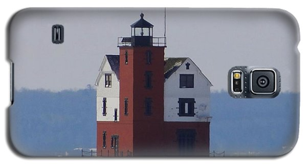 Michigan's Round Island Lighthouse Galaxy S5 Case