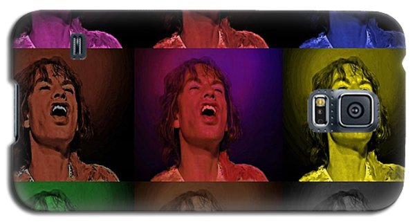 Mick Jagger Pop Art Print Galaxy S5 Case