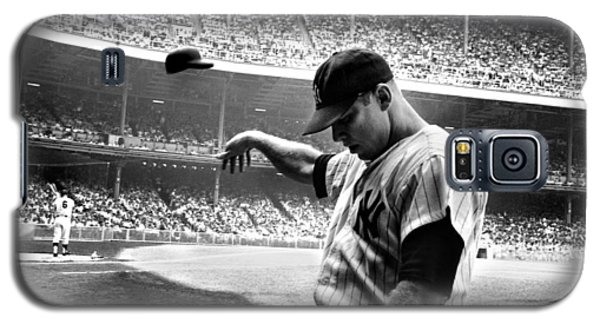 Bat Galaxy S5 Case - Mickey Mantle by Gianfranco Weiss