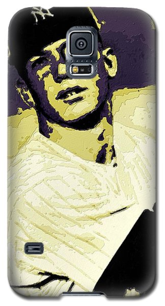 Mickey Mantle Poster Art Galaxy S5 Case
