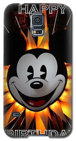 Mickey Mouse Galaxy S5 Case