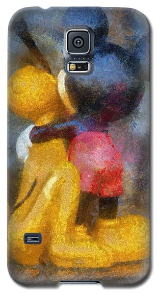 Mickey Mouse Photo Art Galaxy S5 Case