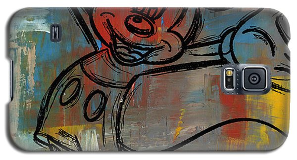 Mickey Mouse Sketchy Hello Galaxy S5 Case