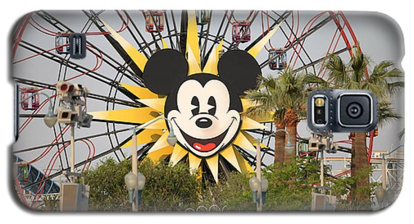 Galaxy S5 Case featuring the photograph Mickey Mouse Wheel by Michael Albright
