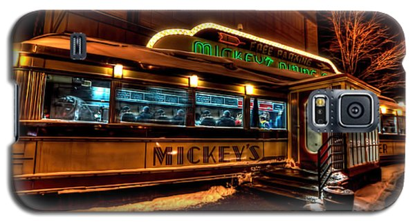Mickey's Diner St Paul Galaxy S5 Case by Amanda Stadther