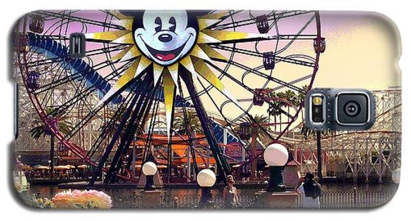 Mickey's Fun Wheel II Galaxy S5 Case by Doug Kreuger