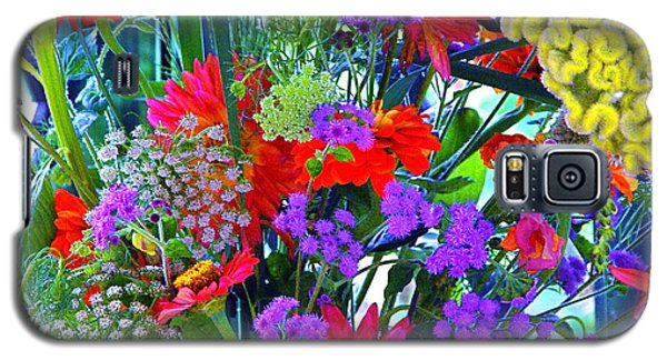 Galaxy S5 Case featuring the photograph Mid August Bouquet by Byron Varvarigos