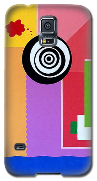 Mid Century Conflict Galaxy S5 Case by Thomas Gronowski