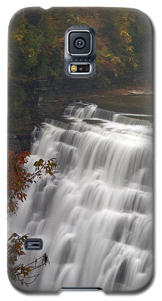 Galaxy S5 Case featuring the photograph Middle Falls II by Timothy McIntyre