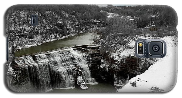 Middle Falls Rochester Ny Galaxy S5 Case by Richard Engelbrecht