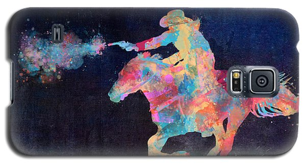 Midnight Cowgirls Ride Heaven Help The Fool Who Did Her Wrong Galaxy S5 Case by Nikki Marie Smith
