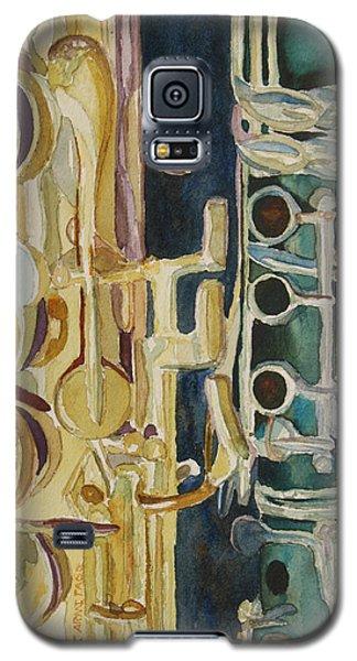 Midnight Duet Galaxy S5 Case by Jenny Armitage
