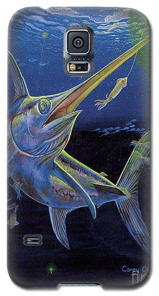Swordfish Galaxy S5 Case - Midnight Encounter Off0023 by Carey Chen