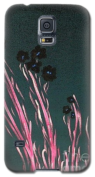 Galaxy S5 Case featuring the painting Midnight Garden 5 by Bill OConnor