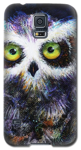Midnight Hoot Galaxy S5 Case