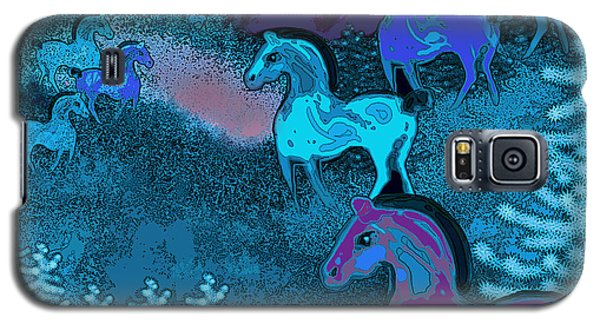 Midnight Horses Galaxy S5 Case
